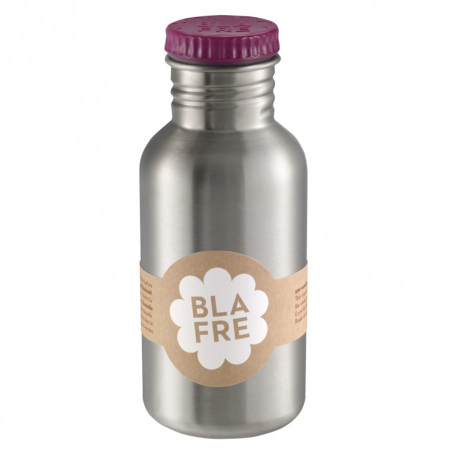 Blafre Steel Bottle Plum Red 500ml Vesipullo