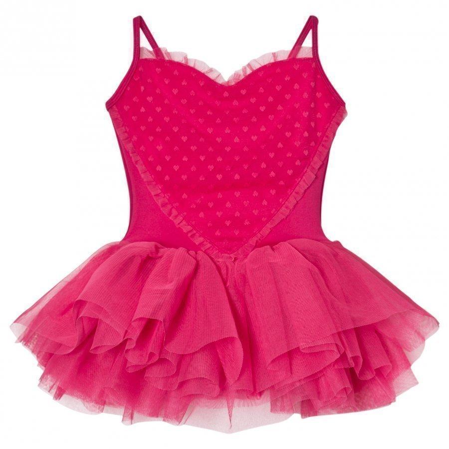 Bloch Hot Pink Valentine Tutu Leotard Trikoopuku