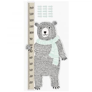 Bloomingville Bear Measure Wall Sticker Seinätarra