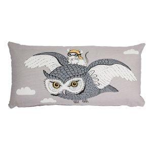 Bloomingville Owl Tyyny Harmaa 30x60 Cm