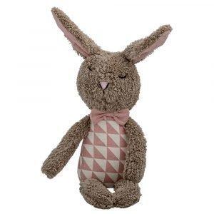 Bloomingville Rabbit Kani Ruskea / Vaaleanpunainen 27 Cm