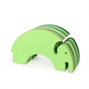 Bobles Elefantti Keinuistuin Vihreä
