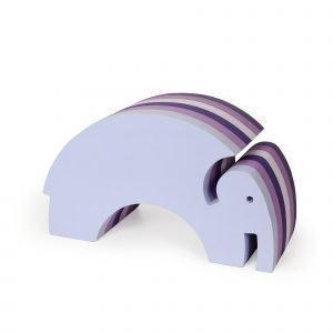 Bobles Elefantti Keinuistuin Violetti