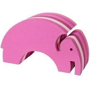 Bobles Elefantti Vaaleanpunainen