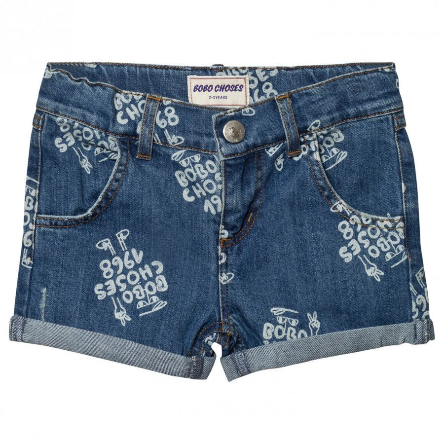 Bobo Choses 1968 Denim Shorts Mazarine Blue Farkkushortsit