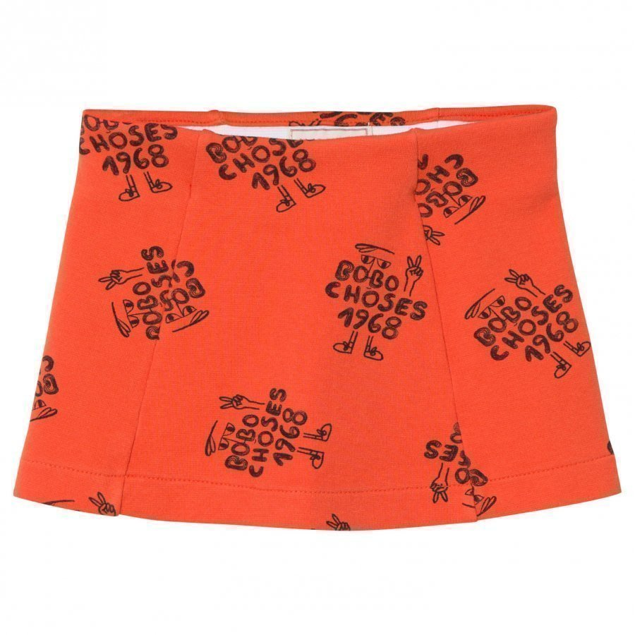 Bobo Choses 1968 Tennis Skirt Red Clay Lyhyt Hame
