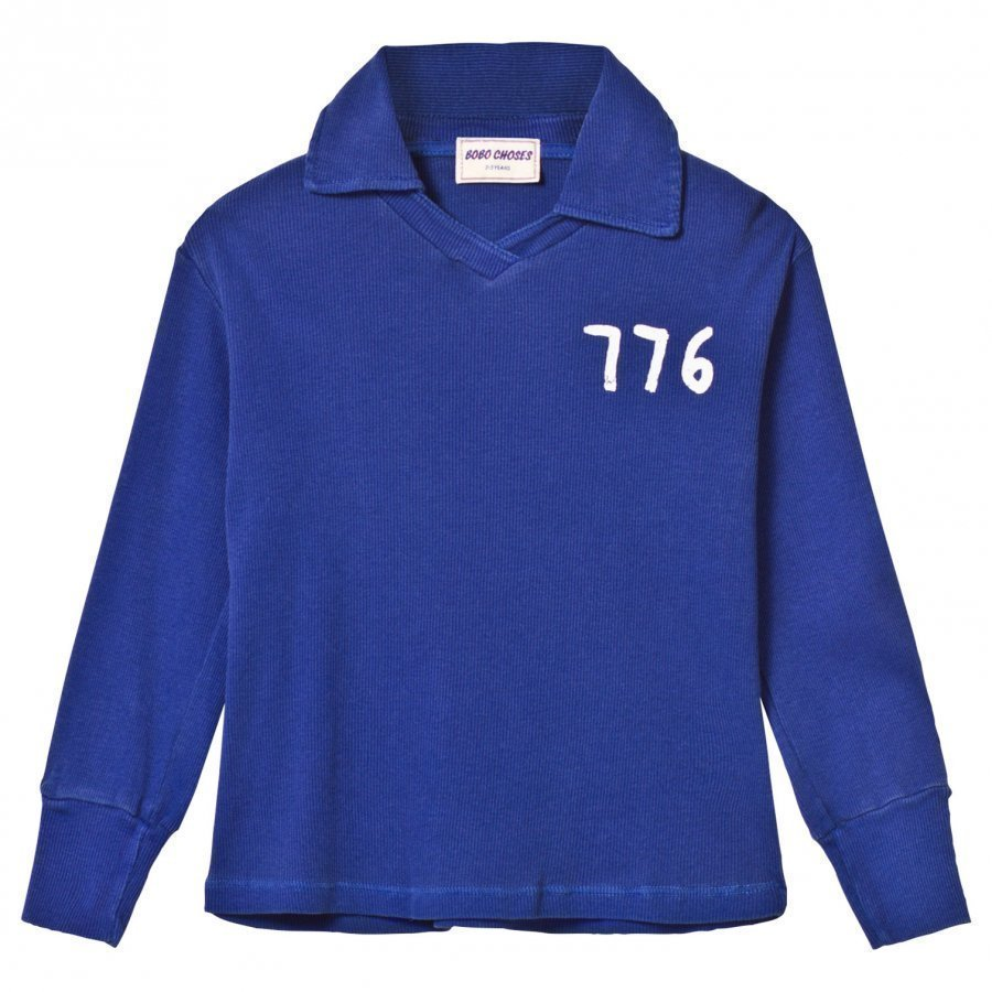Bobo Choses 776 Football Polo Mazarine Blue Pikeepaita