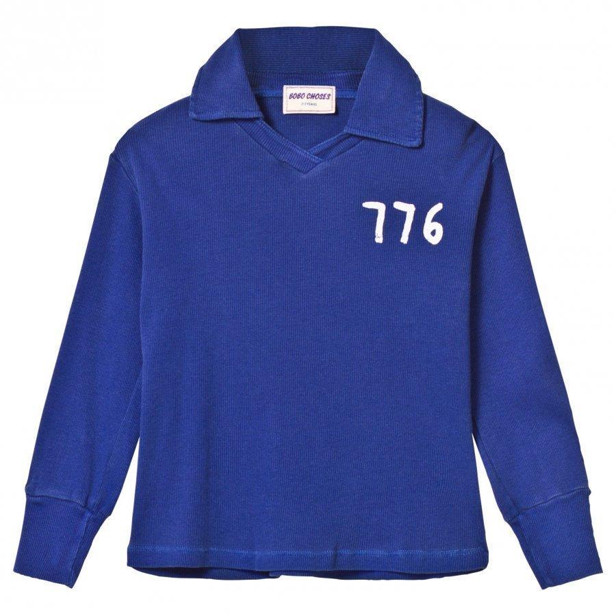 Bobo Choses 776 Football Polo Mazarine Blue Pikeepaita