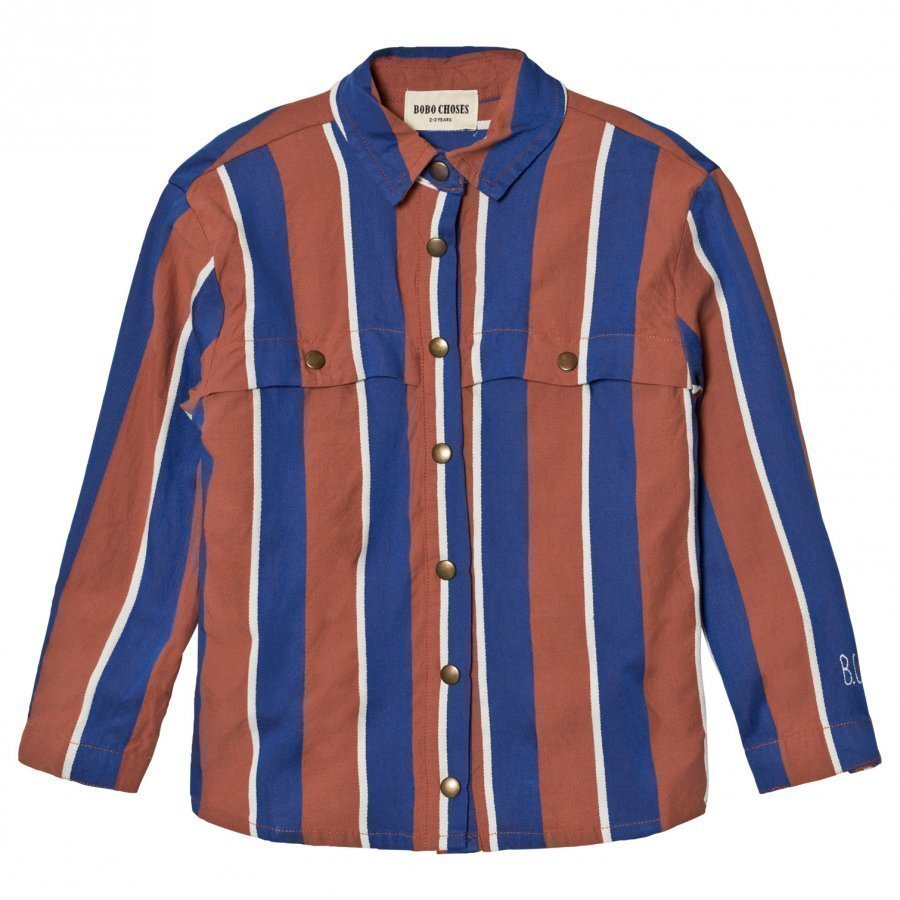 Bobo Choses Awning Stripes Shirt Kauluspaita