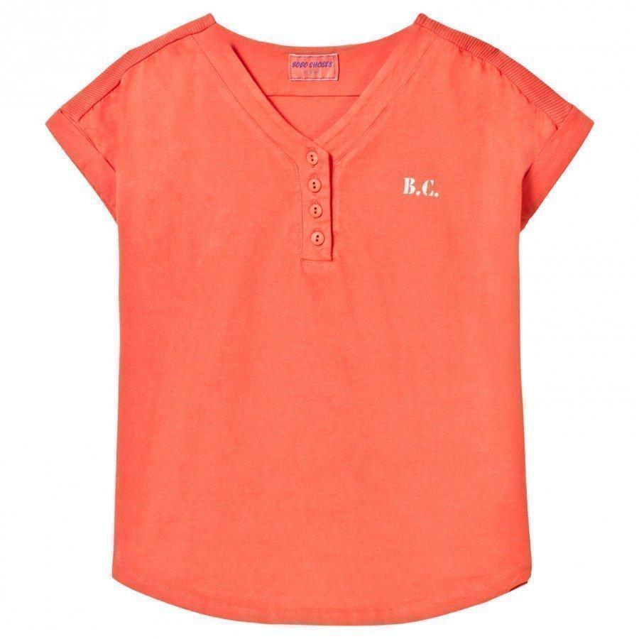 Bobo Choses B.C. Team Baseball Tunic Dress Red Clay Mekko