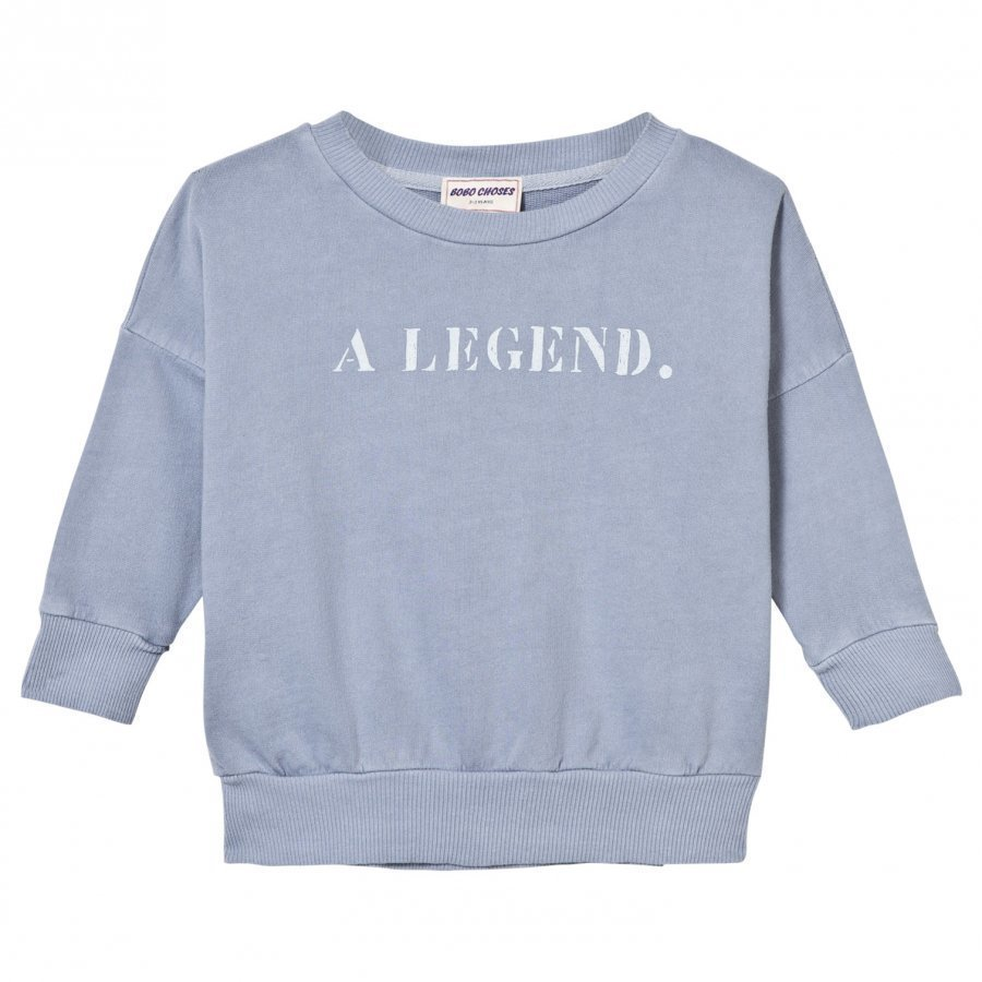 Bobo Choses B.C. Team Sweatshirt Cloud Blue Oloasun Paita