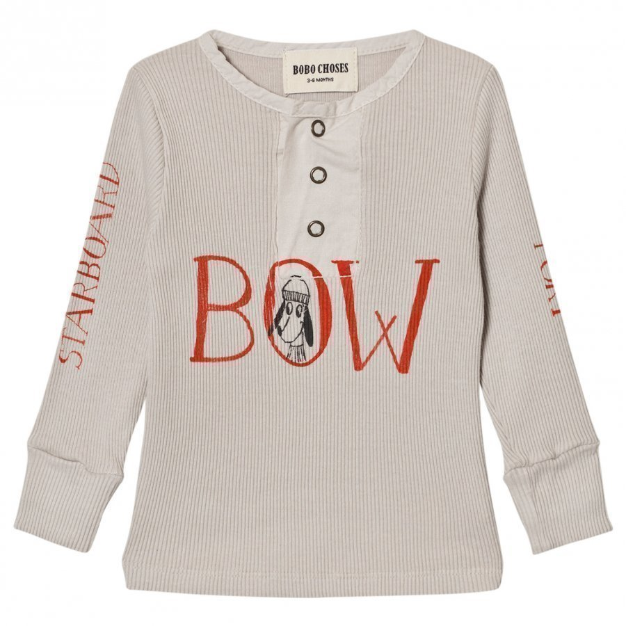 Bobo Choses Baby Buttons T-Shirt Bow Pitkähihainen T-Paita
