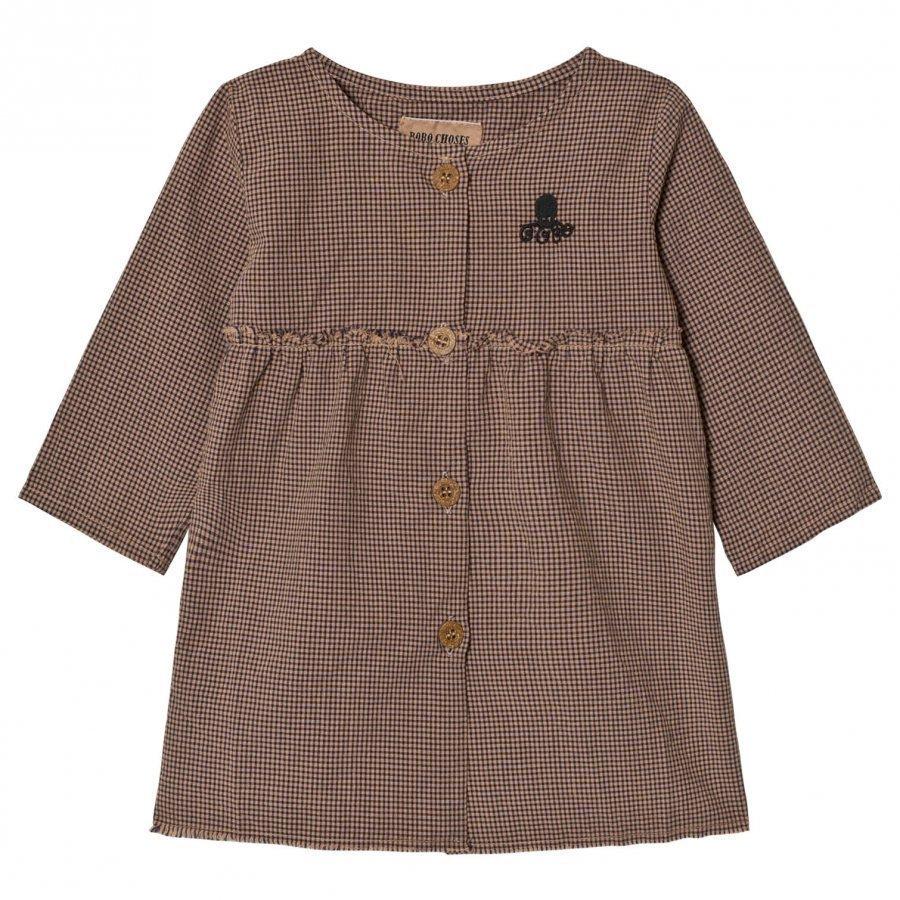 Bobo Choses Baby Princess Dress Vichy Mekko
