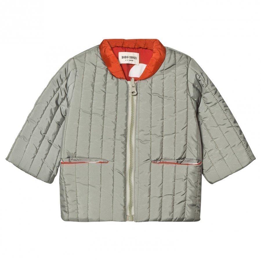 Bobo Choses Baby Reversible Padded Jacket Crests Tikkitakki