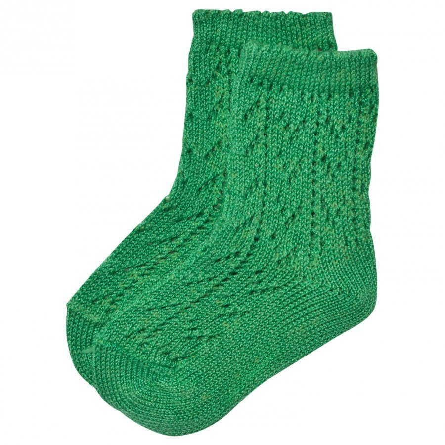 Bobo Choses Baby Short Jacquard Socks Green Mint Sukat