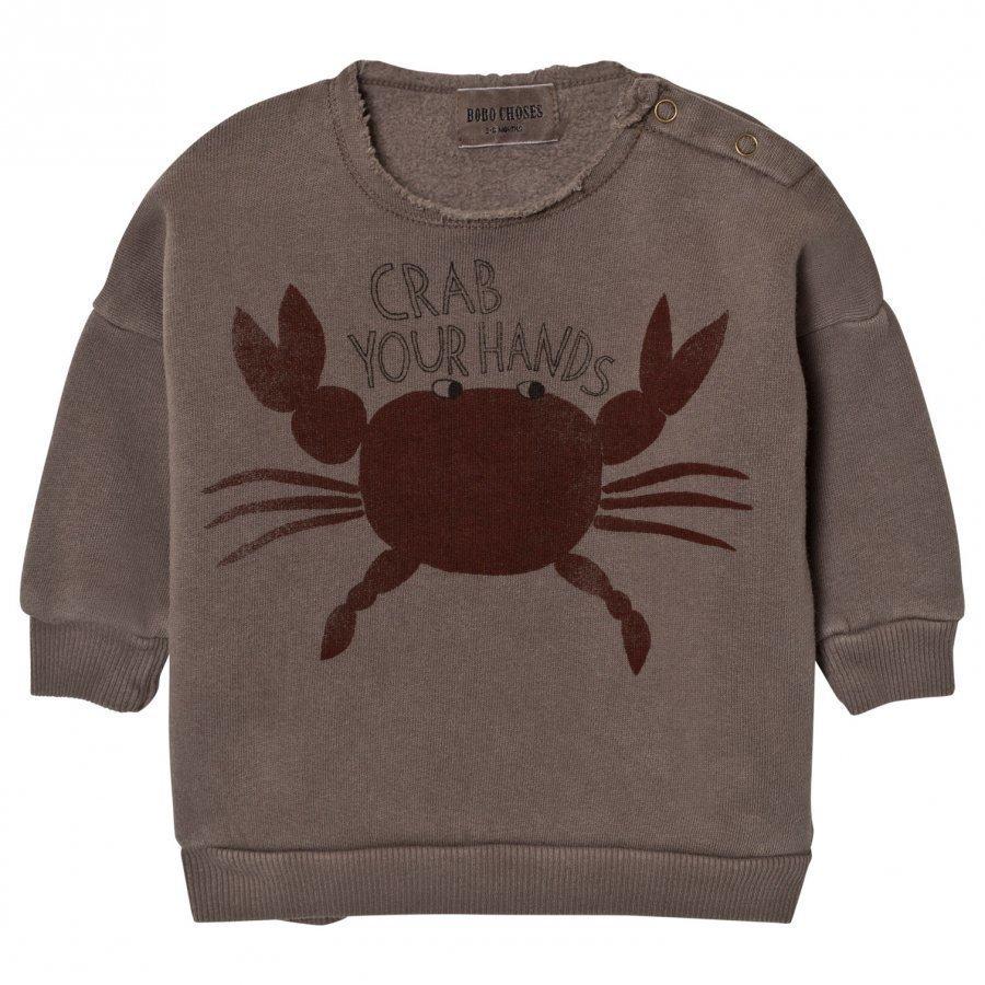 Bobo Choses Baby Sweatshirt Crab Your Hands Oloasun Paita