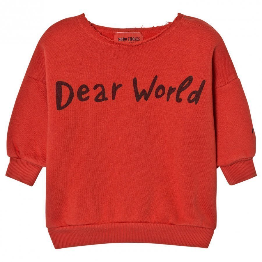 Bobo Choses Baby Sweatshirt Dear World Oloasun Paita