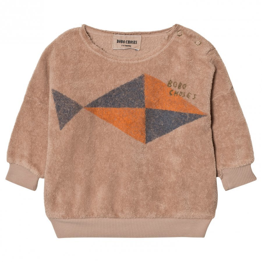Bobo Choses Baby Sweatshirt Fish Oloasun Paita