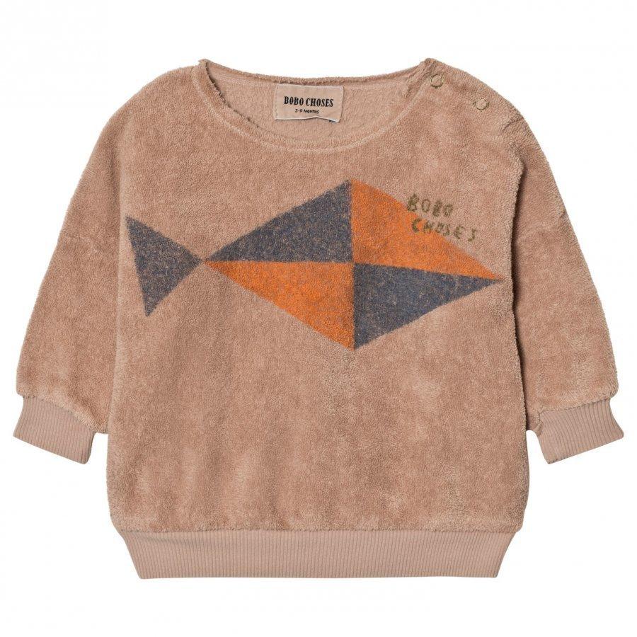 Bobo Choses Baby Sweatshirt Fish Oloasun Paita