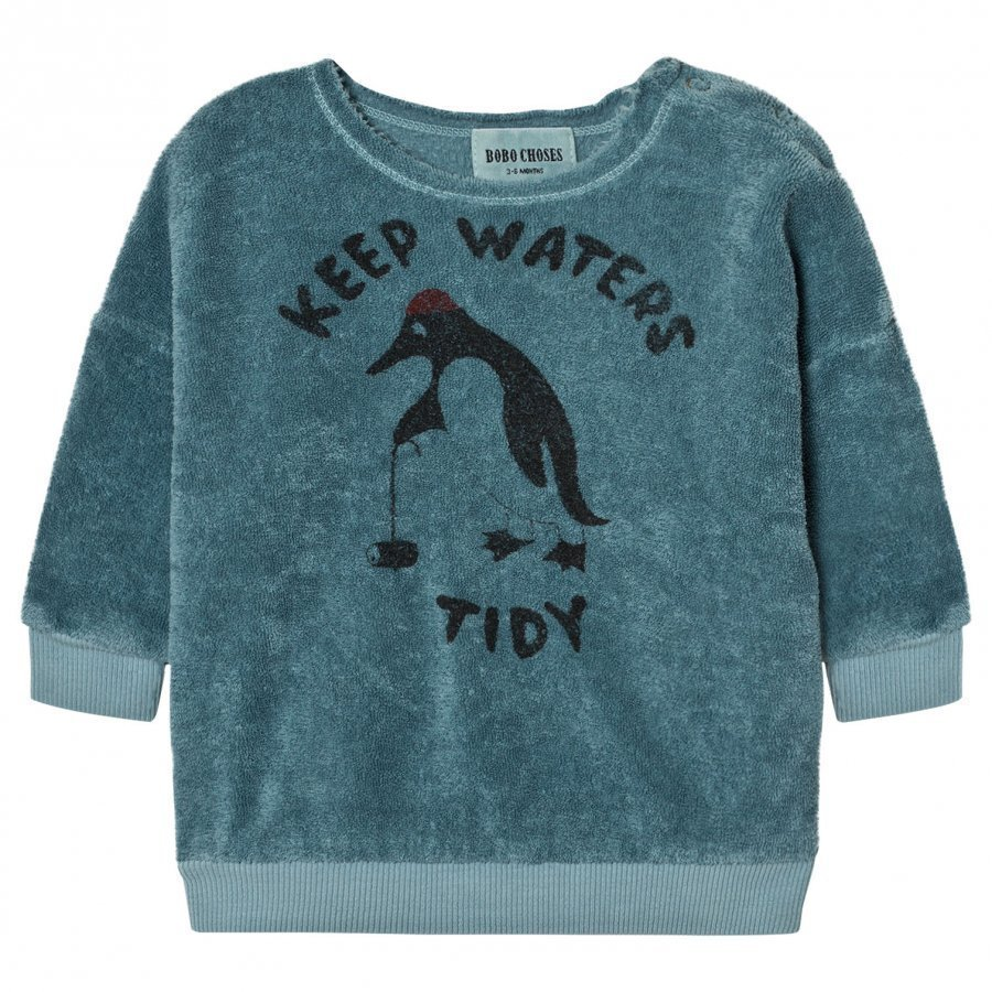 Bobo Choses Baby Sweatshirt Keep Waters Tidy Oloasun Paita