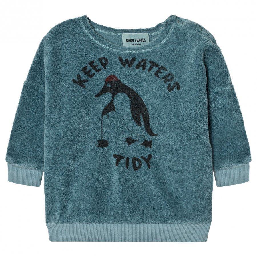 Bobo Choses Baby Sweatshirt Keep Waters Tidy Oloasun Paita