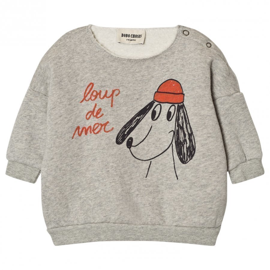 Bobo Choses Baby Sweatshirt Loup De Mer Oloasun Paita