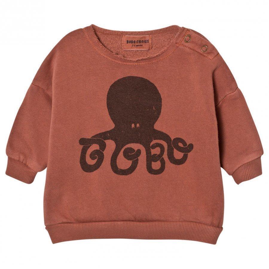 Bobo Choses Baby Sweatshirt Octopus Oloasun Paita