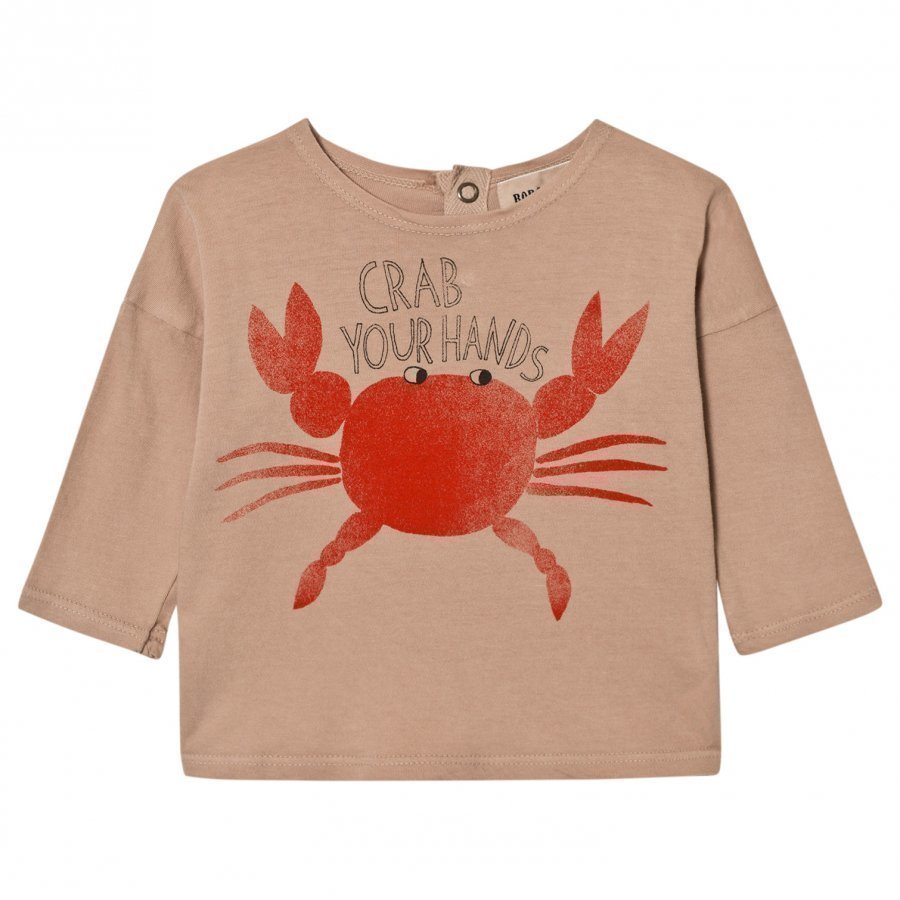 Bobo Choses Baby T-Shirt Crab Your Hands Pitkähihainen T-Paita