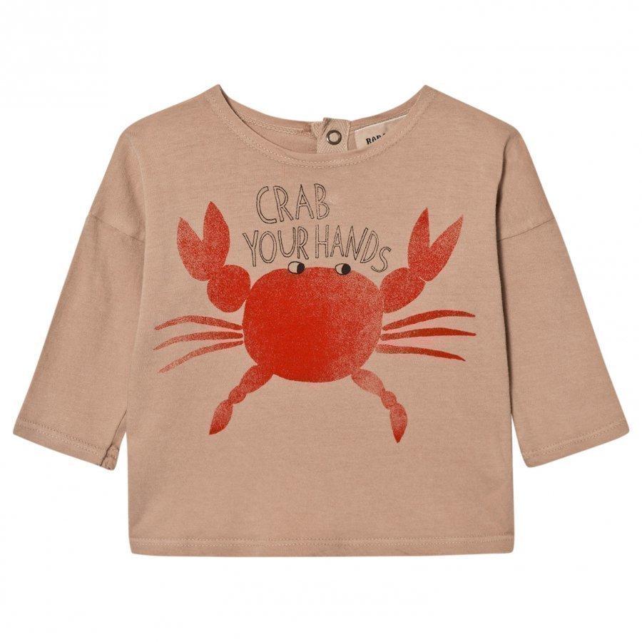 Bobo Choses Baby T-Shirt Crab Your Hands Pitkähihainen T-Paita
