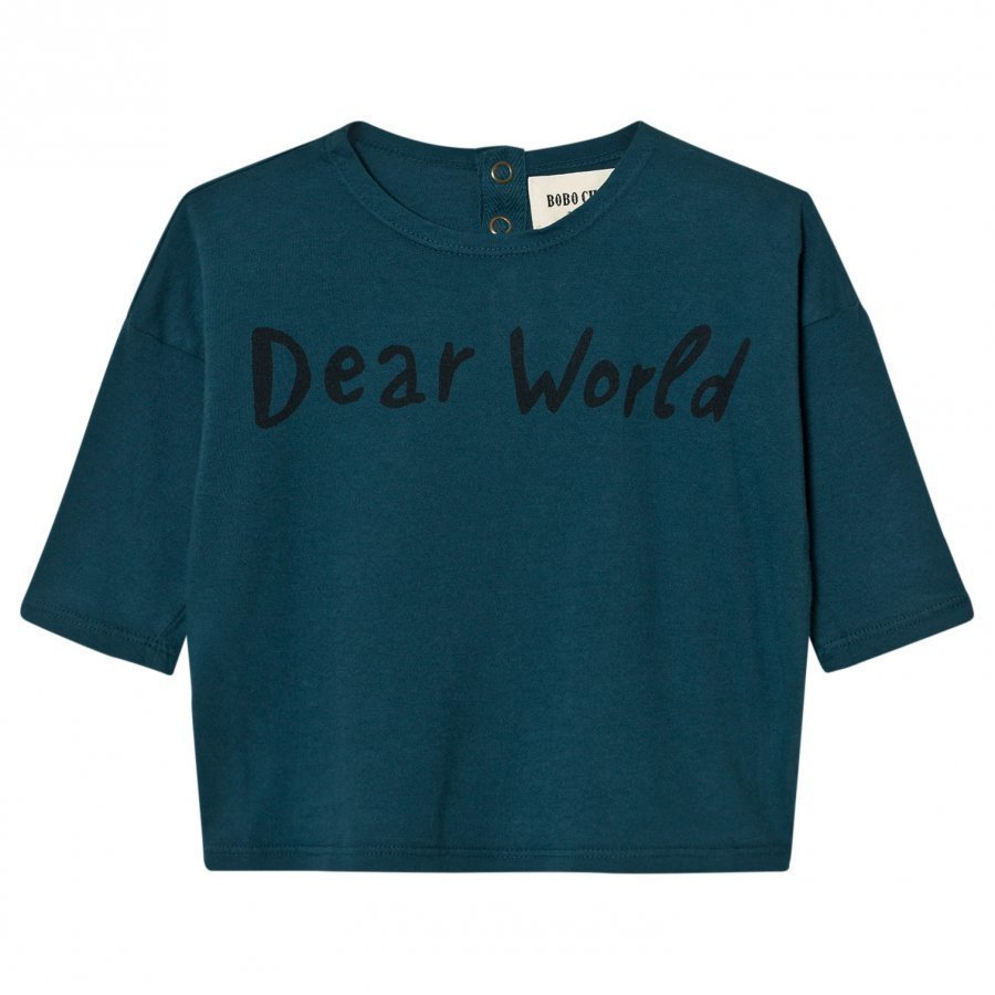 Bobo Choses Baby T-Shirt Dear World Pitkähihainen T-Paita