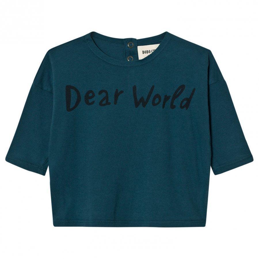 Bobo Choses Baby T-Shirt Dear World Pitkähihainen T-Paita