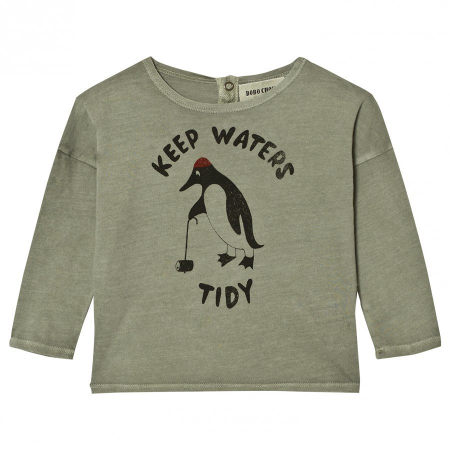 Bobo Choses Baby T-Shirt Keep Waters Tidy Pitkähihainen T-Paita