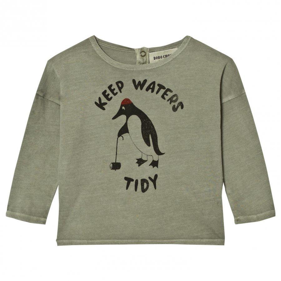 Bobo Choses Baby T-Shirt Keep Waters Tidy Pitkähihainen T-Paita
