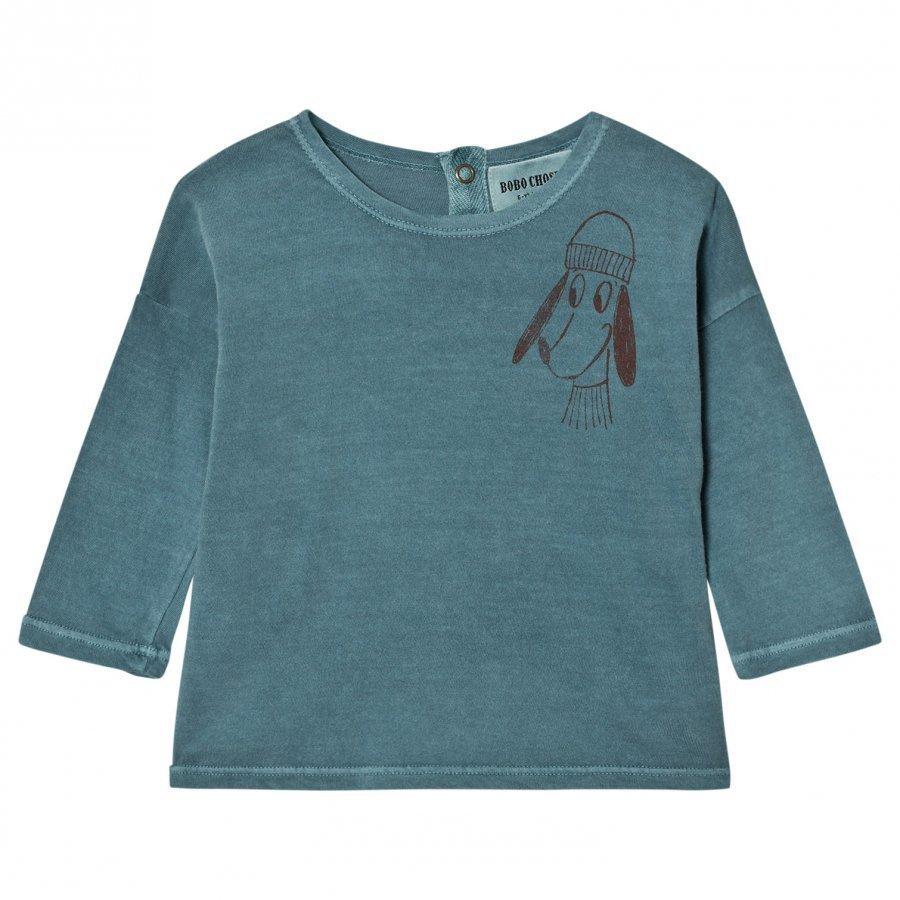 Bobo Choses Baby T-Shirt Loup Pitkähihainen T-Paita