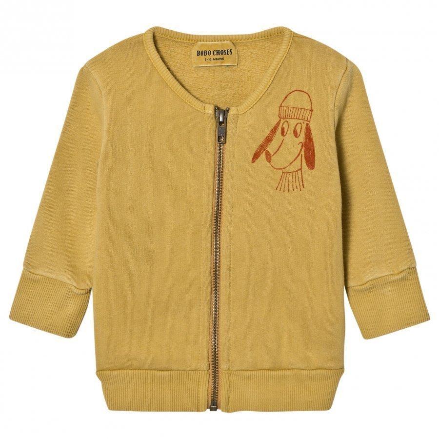 Bobo Choses Baby Zip Sweatshirt Loup De Mer Oloasun Paita