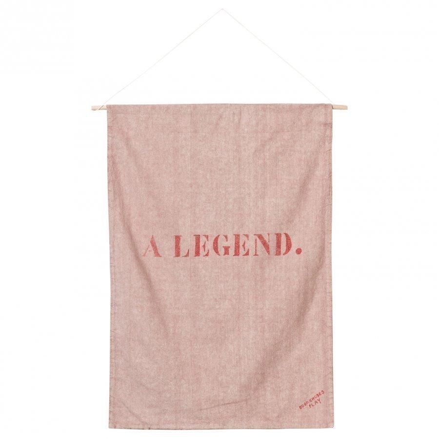 Bobo Choses Banner Slide Off Rose Juliste