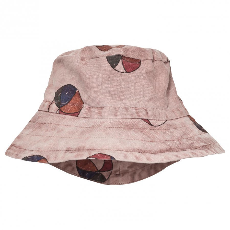 Bobo Choses Basket Ball Bob Bucket Hat Off Rose Aurinkohattu