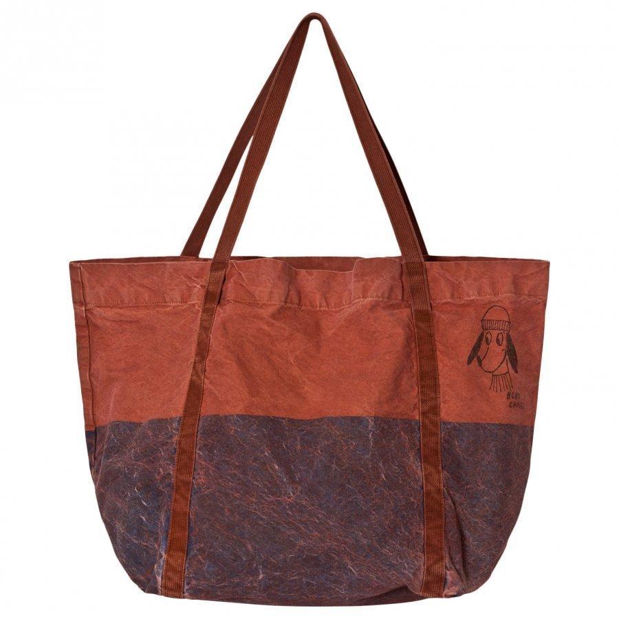 Bobo Choses Bicolor Tote Bag Blue Loup Kassi