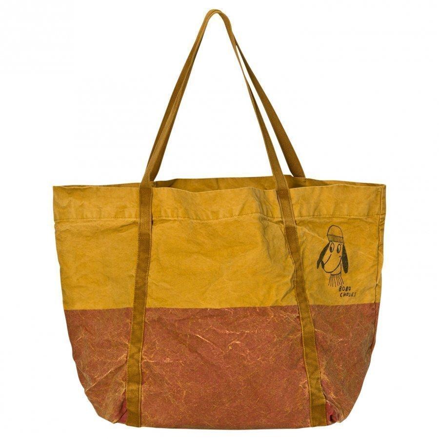 Bobo Choses Bicolor Tote Bag Red Loup Kassi