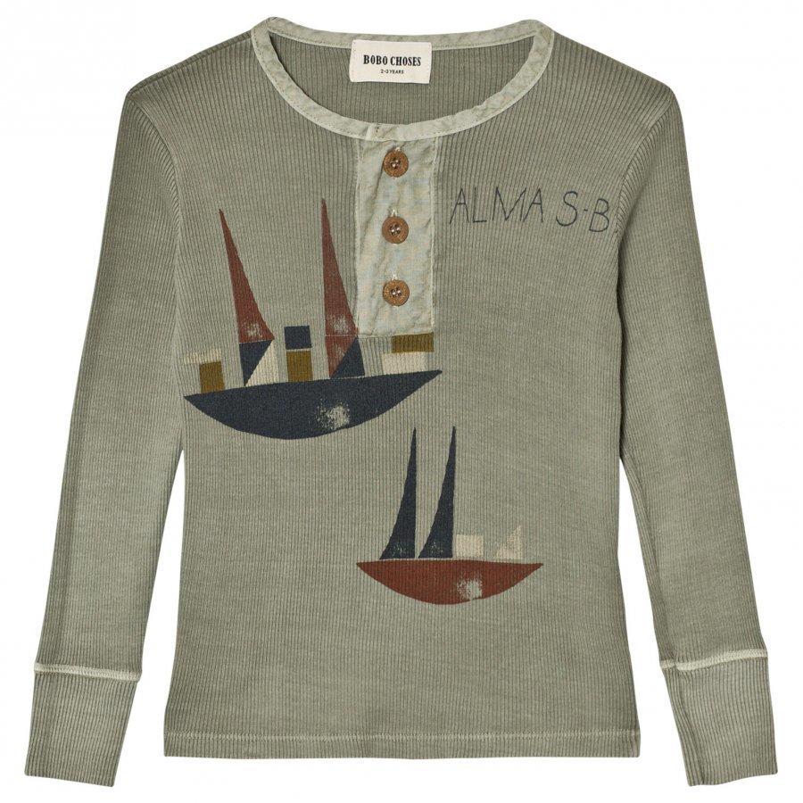 Bobo Choses Buttons T-Shirt Alma S.B. Pitkähihainen T-Paita