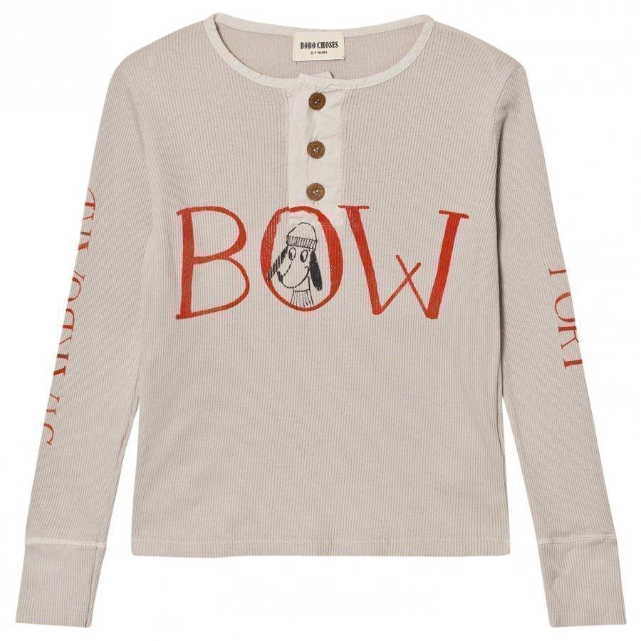 Bobo Choses Buttons T-Shirt Bow Pitkähihainen T-Paita