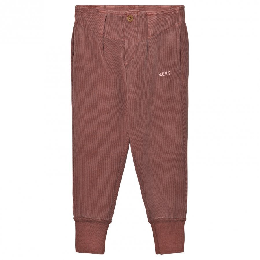 Bobo Choses Buttons Trousers Dusty Cedar Verryttelyhousut