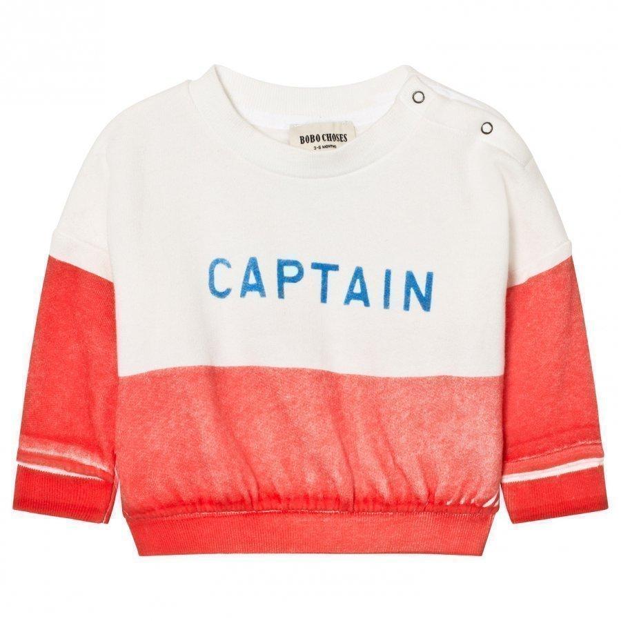 Bobo Choses Captain Baby Boat Sweatshirt Oloasun Paita