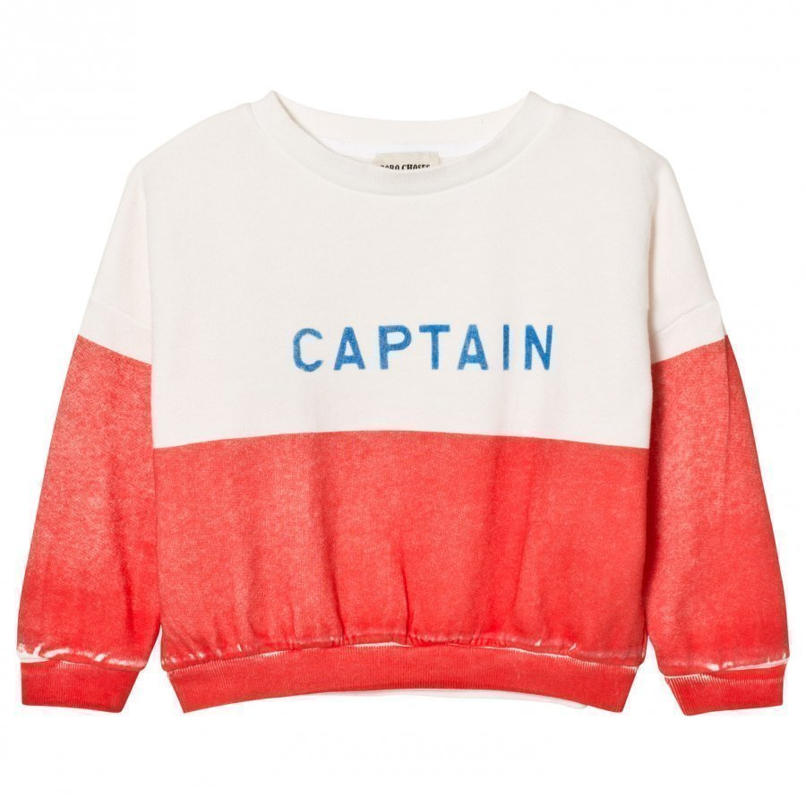 Bobo Choses Captain Boat Sweatshirt Oloasun Paita