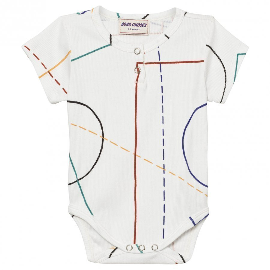 Bobo Choses Court Baby Body Off White Body
