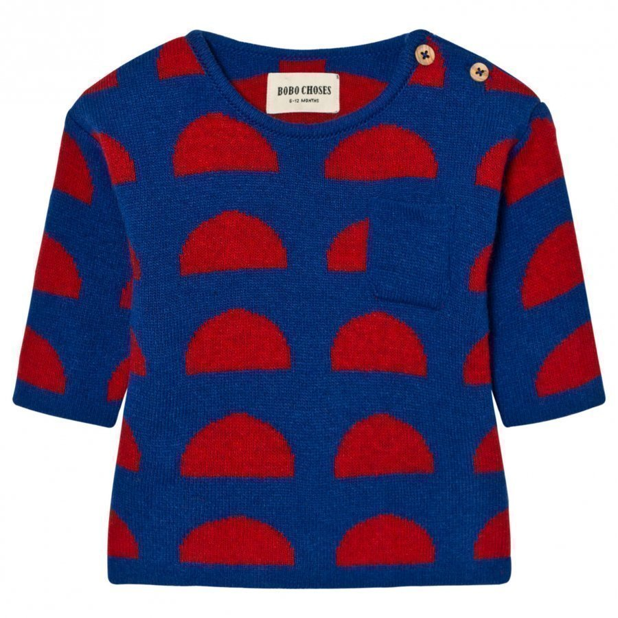Bobo Choses Crests Baby Knitted Sweater Paita
