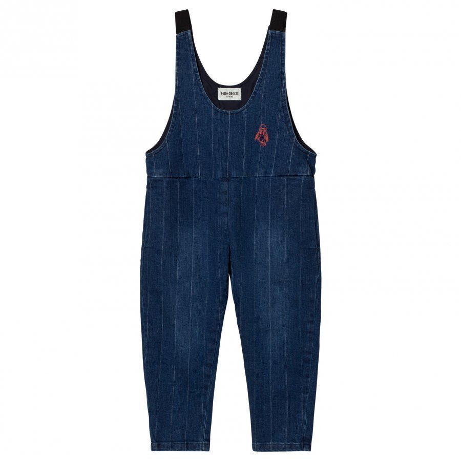 Bobo Choses Denim Baggy Overall Lappuhaalari