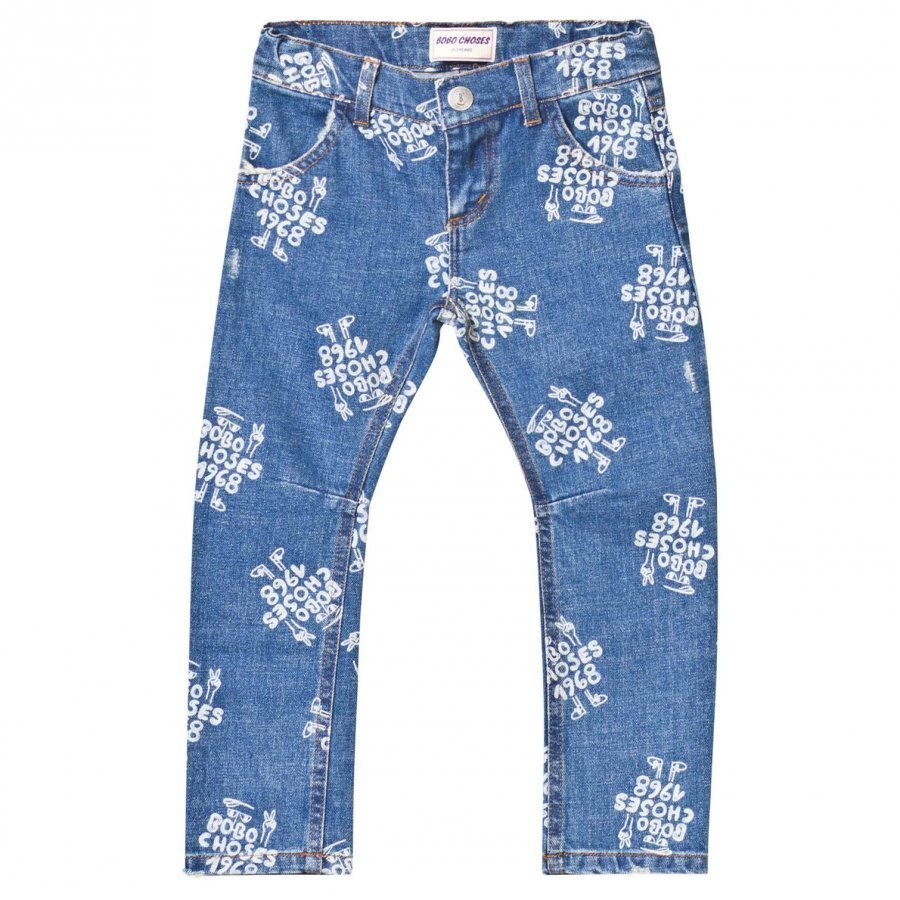 Bobo Choses Denim Trousers 1968 Mazarine Blue Farkut