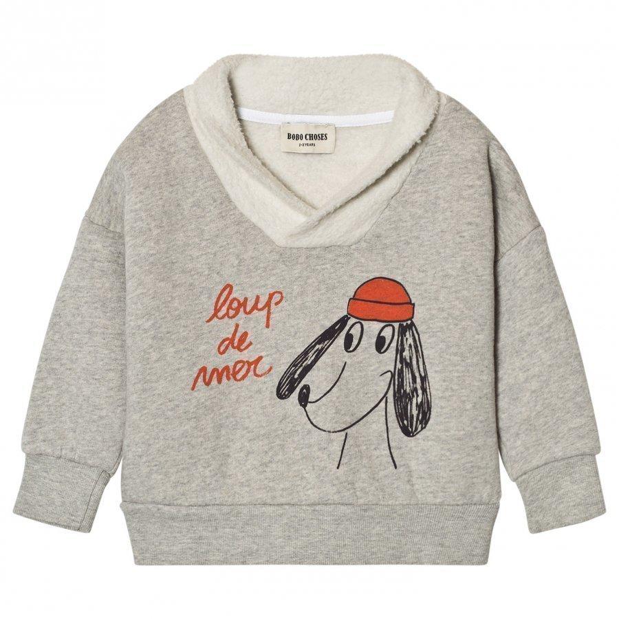 Bobo Choses Fisherman Sweatshirt Loup De Mer Oloasun Paita