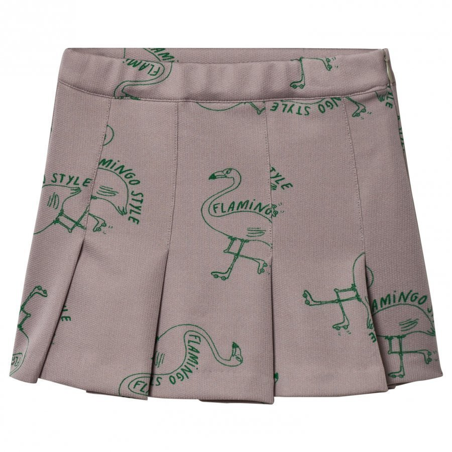 Bobo Choses Flamingos Skirt Chateau Grey Kellohame